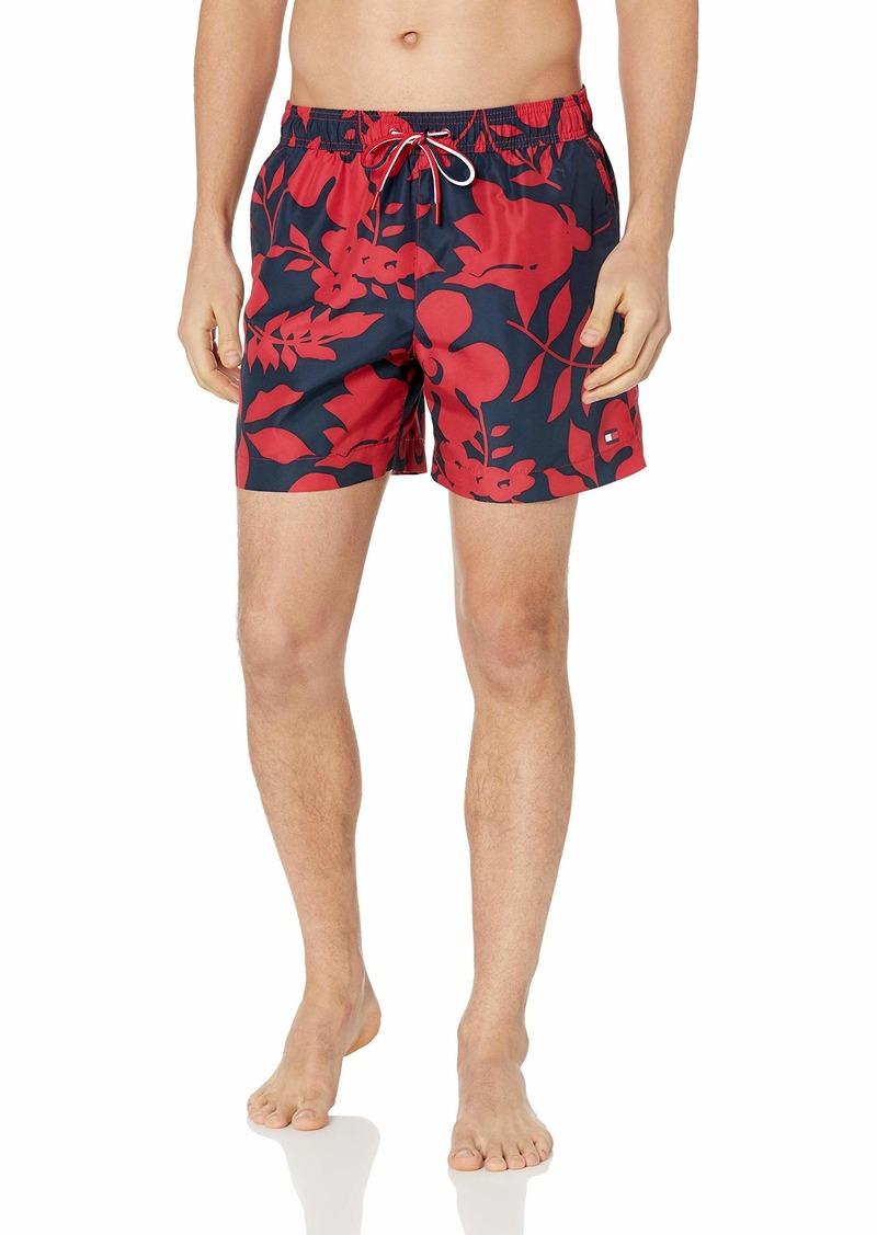 ca1f4d410e Men's Swim Trunks Mid Length Inseam Floral Print tangs Onl. Tommy Hilfiger