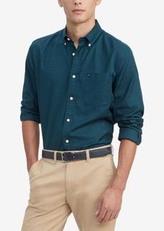 Tommy Hilfiger Men's Syd Classic-Fit Mini-Tartan Shirt
