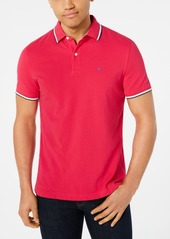 Tommy Hilfiger Men's Tanner Contrast-Stripe Polo