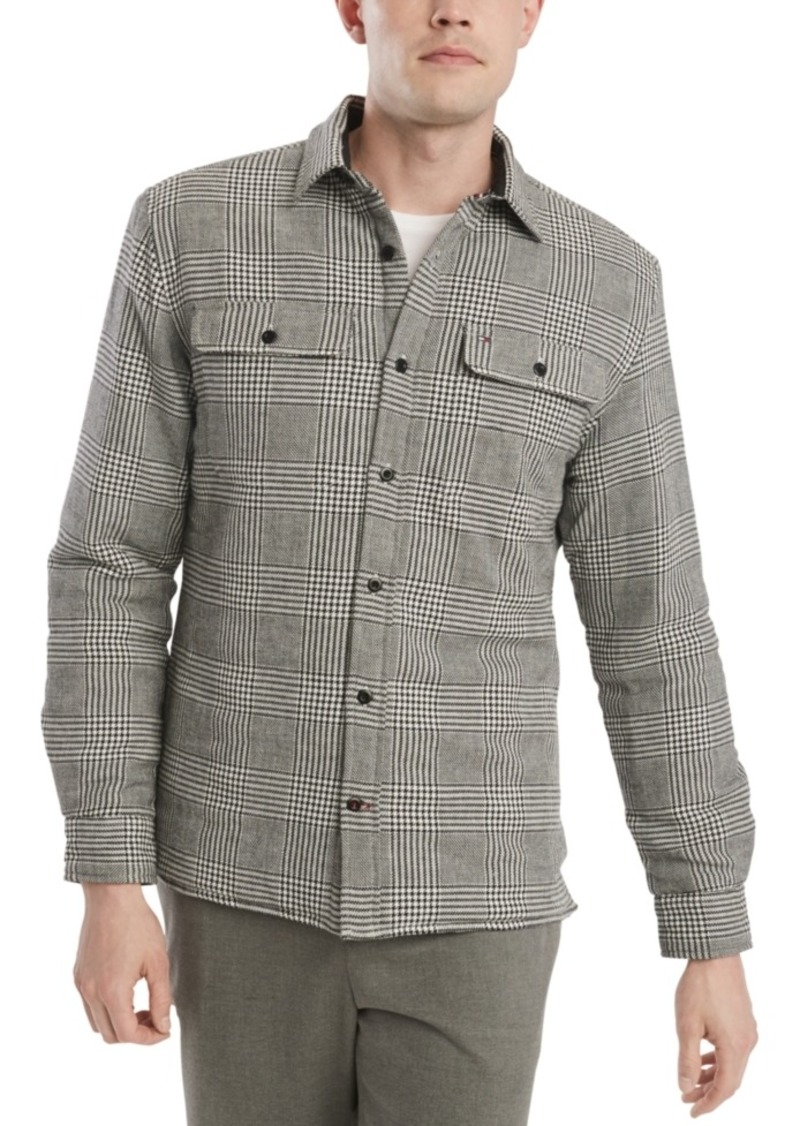 Tommy Hilfiger Men's Tate Regular-Fit Plaid Shirt Jacket