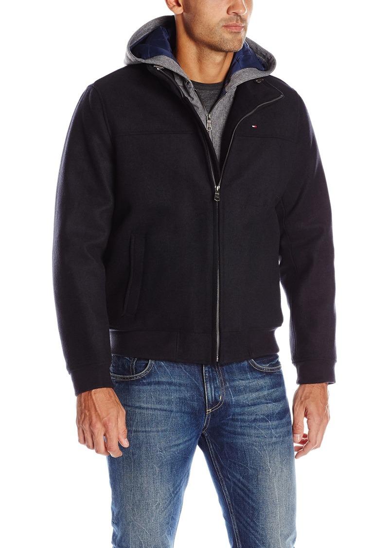 Tommy Hilfiger Mens/' Softshell Bomber Jacket