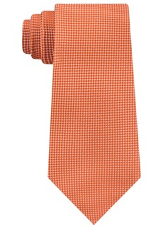 Tommy Hilfiger Men's Textured Solid Silk Tie