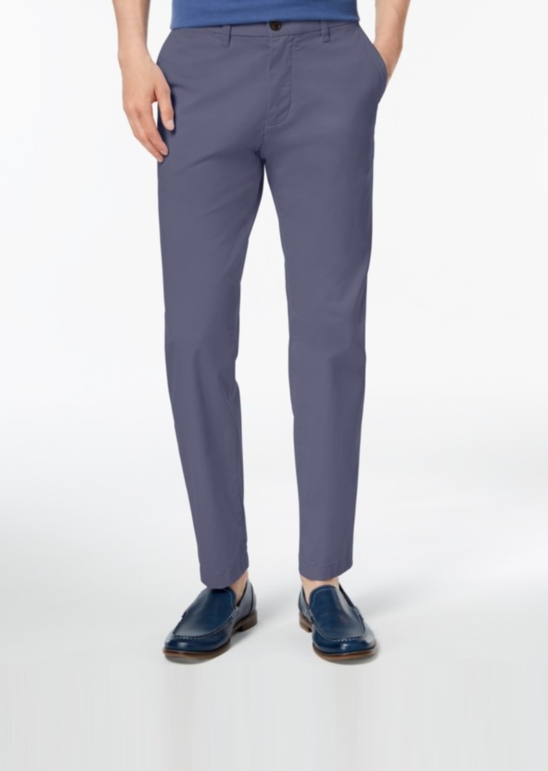 d935a56815250b Tommy Hilfiger Men's Th Flex Stretch Custom-Fit Chino Pant, Created for  Macy's