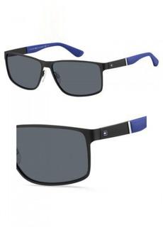 Tommy Hilfiger Men's Th1542s Rectangular Sunglasses  61 mm