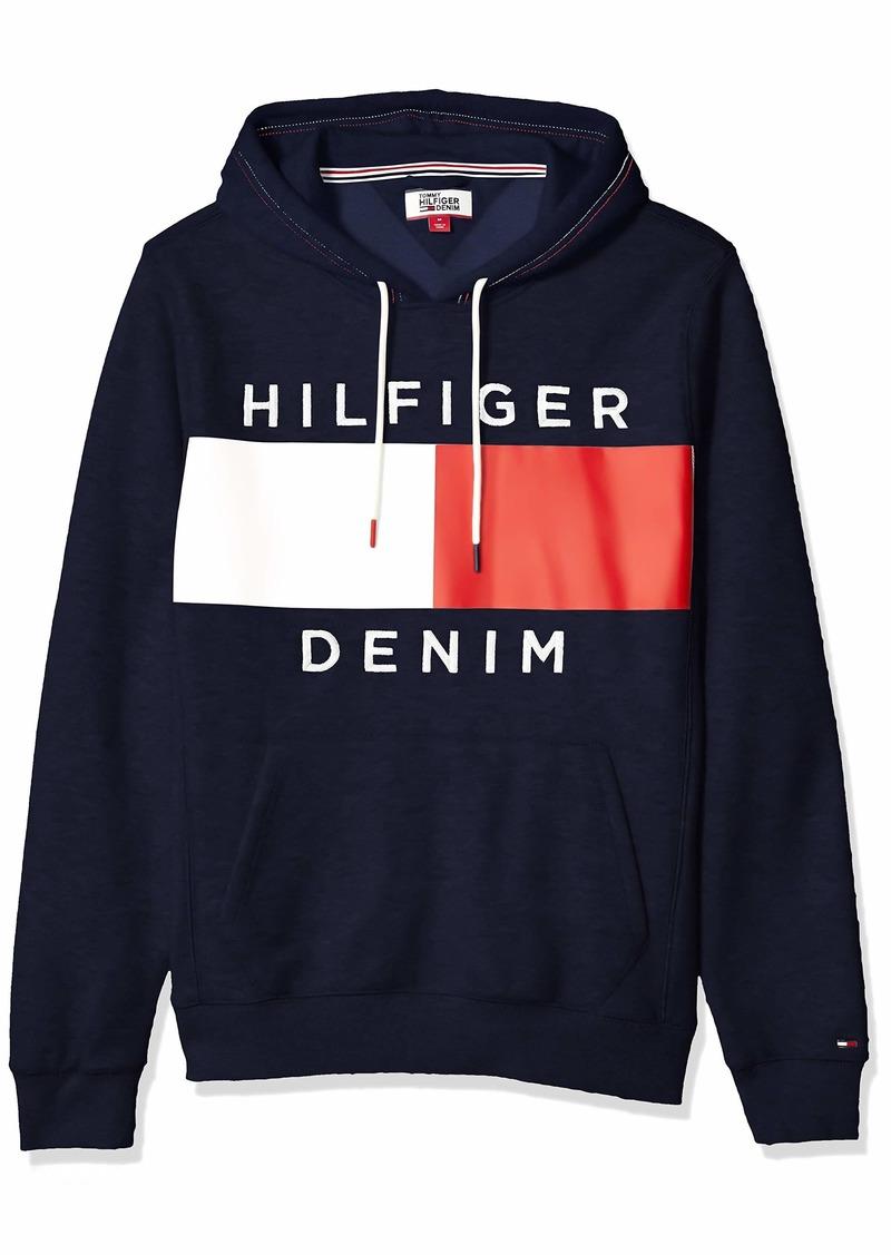 Tommy Hilfiger Men's THD Hoodie Sweatshirt  LG