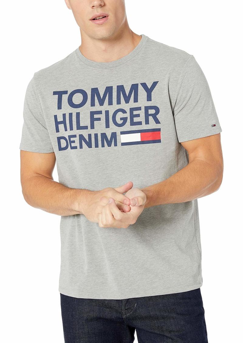 Tommy Hilfiger Men's THD Short Sleeve Logo T Shirt  XL