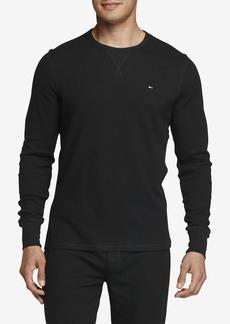 Tommy Hilfiger Men's Thermal Long Sleeve Crew Neck Shirt  LG