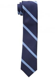 Tommy Hilfiger Men's Thin Bar Stripe Slim Tie