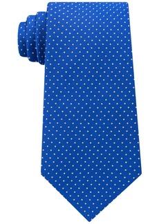Tommy Hilfiger Men's Twill Pin Dot Silk Tie