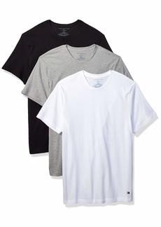 Tommy Hilfiger Men's Undershirts 3 Pack Cotton Classics Crew Neck T-Shirt