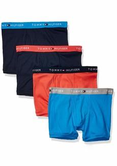 Tommy Hilfiger Mens Underwear Classic Brief 4 Pack Cotton Bottoms Flag Logo New