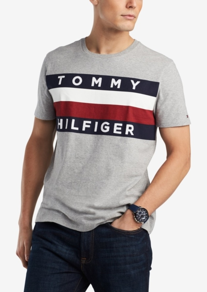 Tommy Hilfiger T Shirt with Flag Logo