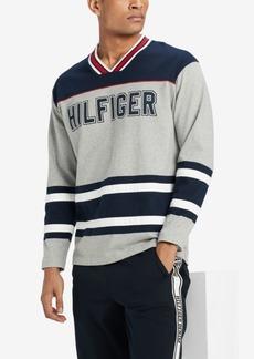 Tommy Hilfiger Men's V-Neck Hockey Jersey, Created for Macy's