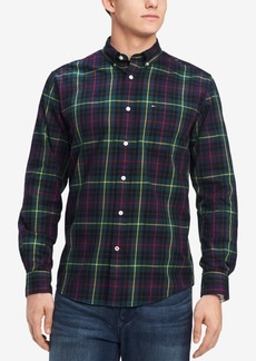 Tommy Hilfiger Men's Vincent Plaid Pocket Shirt