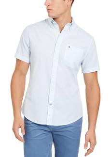 Tommy Hilfiger Men's Wainwright Custom-Fit Solid Shirt