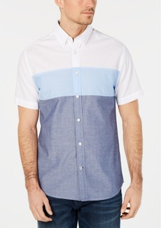 Tommy Hilfiger Men's Wainwright Triple Striped Shirt, Created for Macy's