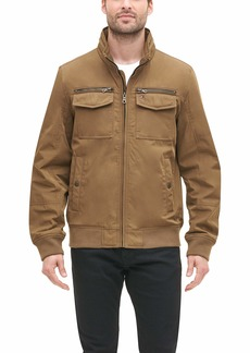 Tommy Hilfiger Men's Water and Wind Resistant Performance Bomber Jacket (Standard and Big & Tall)