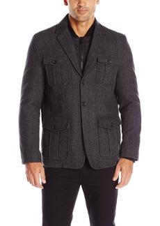 Tommy Hilfiger Men's Wool Fancy Blazer With Nylon Bib  M
