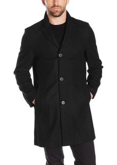 Tommy Hilfiger Men's Wool Melton Unfilled Top Coat  XXL