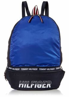 Tommy Hilfiger Men's Zeus Convertible Backpack BLUE IOLITE/NAVY BLAZER OS