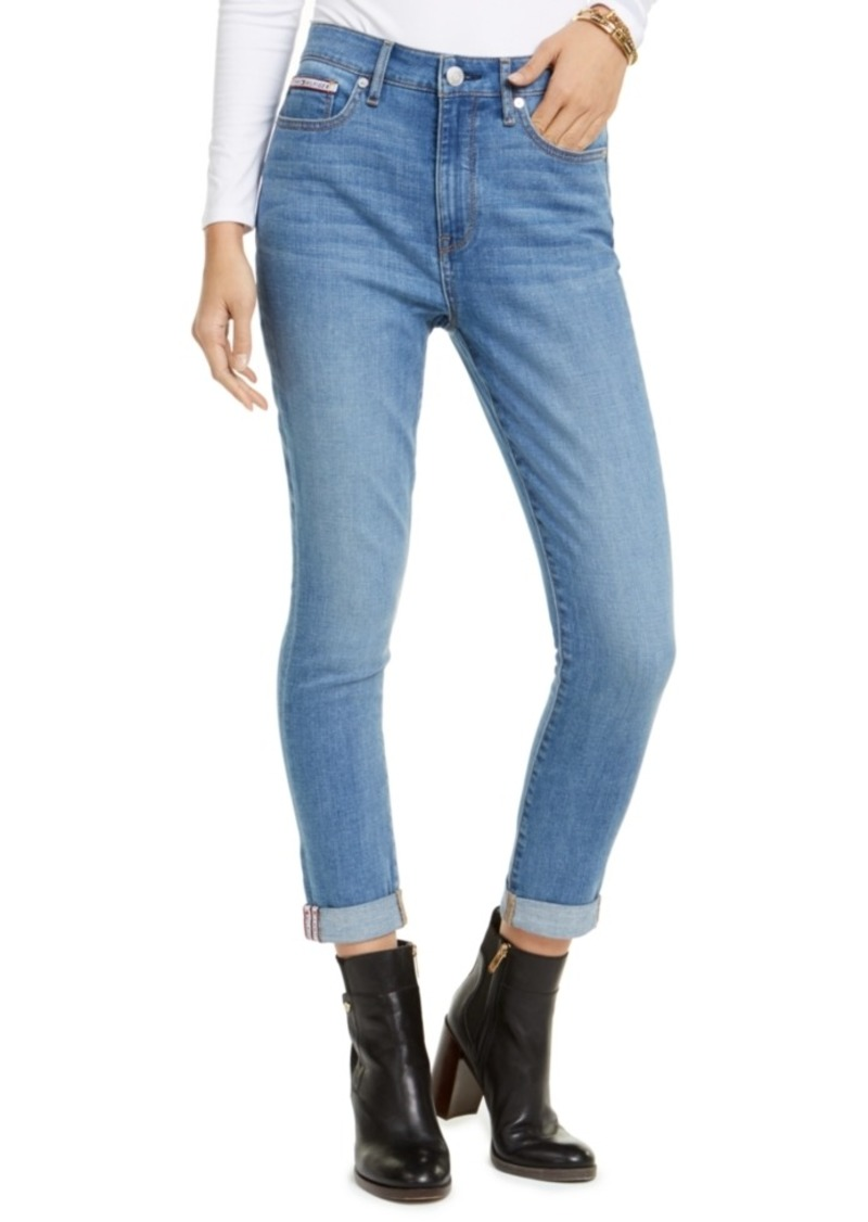 Tommy Hilfiger Mercer High-Waist Cuffed Jeans