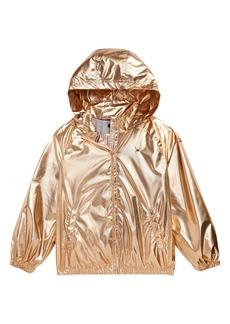 Tommy Hilfiger Metallic Jacket (Big Girl)