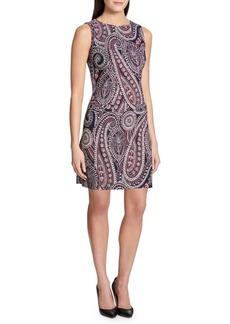 Tommy Hilfiger Millenium Lumbok Paisley Two-Pocket Shift Dress