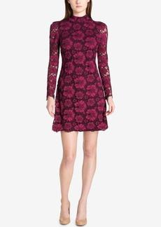 Tommy Hilfiger Mock-Neck Boho Lace Dress