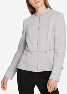 Tommy Hilfiger Mock-Neck Zip Jacket, Created For Macy's