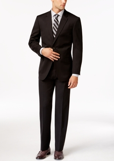 Tommy Hilfiger Modern-Fit Solid Black Suit