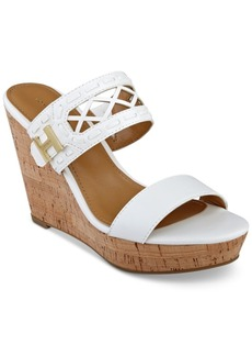 Tommy Hilfiger Monee Platform Slip-On Wedge Sandals Women's Shoes