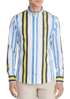 Tommy Hilfiger Multicolored Striped Classic Fit Button-Down Shirt