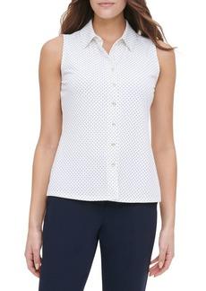 Tommy Hilfiger Neat-Dot Buttoned Shirt
