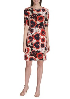 Tommy Hilfiger Notting Hill Button-Sleeve Shift Dress