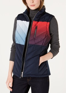 Tommy Hilfiger Ombre Quilted Vest