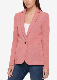 Tommy Hilfiger One-Button Blazer, Created for Macy's