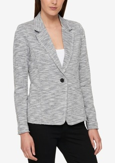 Tommy Hilfiger One-Button Knit Blazer, Created for Macy's