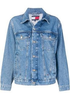 Tommy Hilfiger oversized denim jacket - Blue
