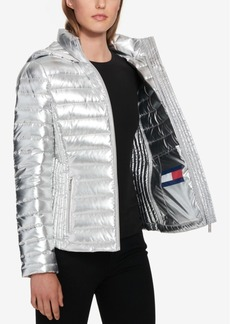 Tommy Hilfiger Packable Hooded Puffer Coat, Created for Macy's