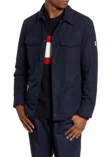 Tommy Hilfiger Padded Snap-Up Shirt Jacket
