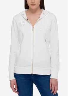Tommy Hilfiger Patch Hoodie, Only at Macy's