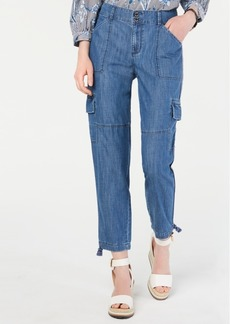 Tommy Hilfiger Patch-Pocket Utility Jeans, Created for Macy's