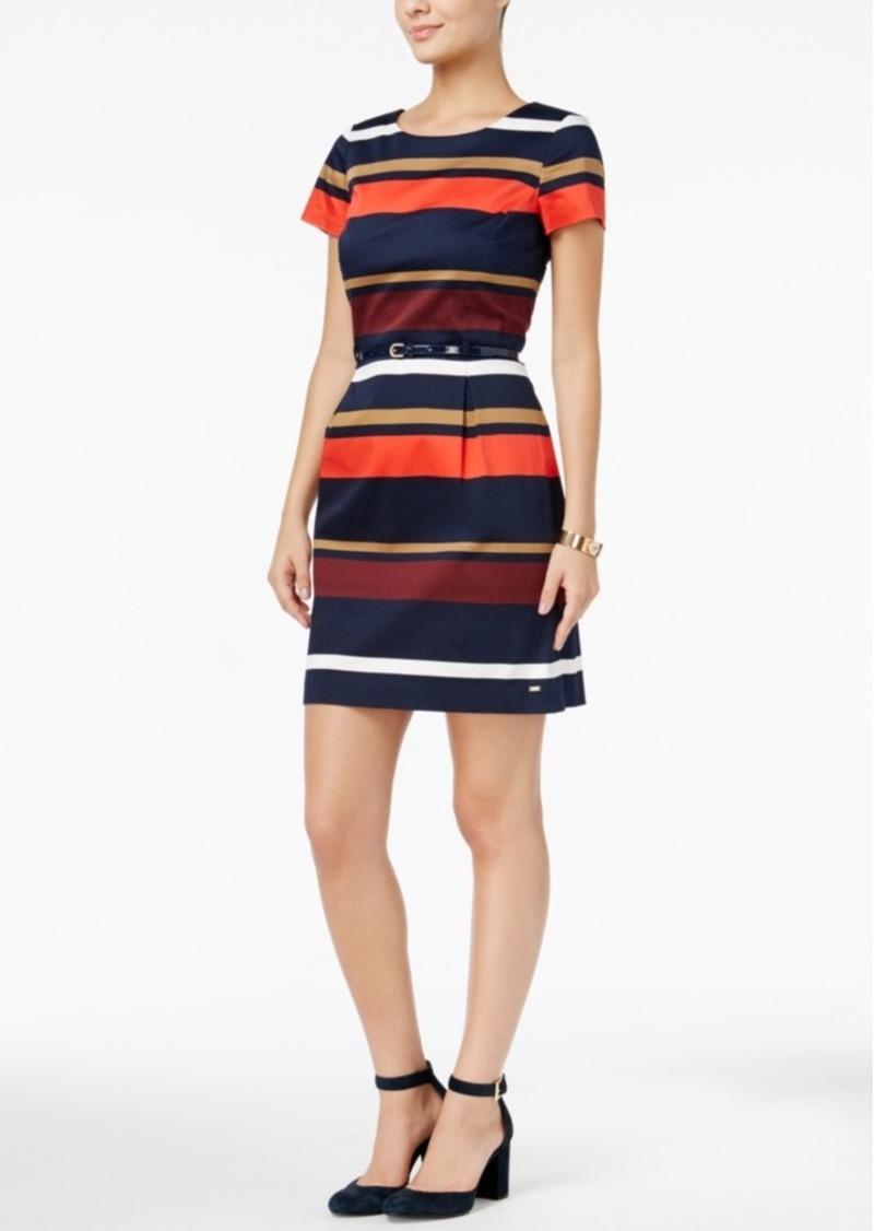 Jersey Striped Dress - Sales Up to -50% Tommy Hilfiger 8GLbVFxLN