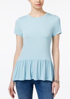 Tommy Hilfiger Peplum Top, Only at Macy's