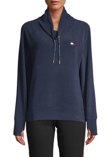 Tommy Hilfiger Performance Cowlneck Fleece Pullover
