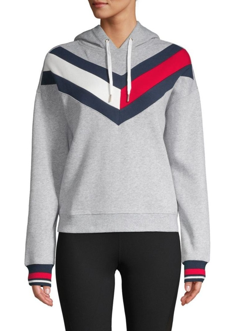 Tommy Hilfiger Performance Drawstring Cotton-Blend Hoodie