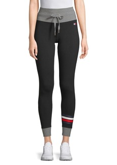 Tommy Hilfiger Performance Drawstring High-Rise Leggings