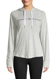 Tommy Hilfiger Performance Logo Lightweight Hoodie