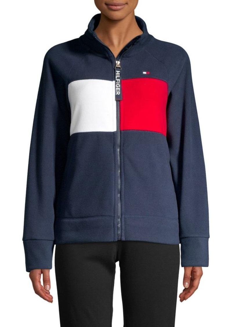 Tommy Hilfiger Performance Logo Zip-Up Jacket