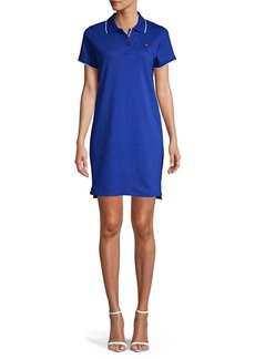 Tommy Hilfiger Performance Short-Sleeve Cotton Blend Polo Dress